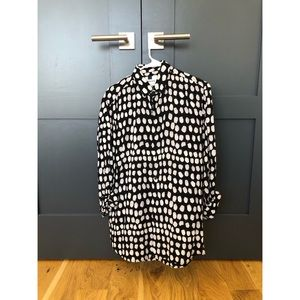 Topman long sleeve pattern shirt - size M